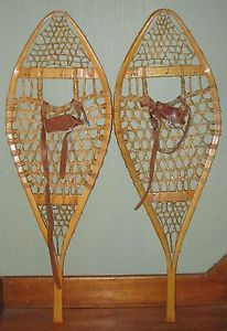 old snow shoes