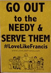 Mt St Francis Love like Francis