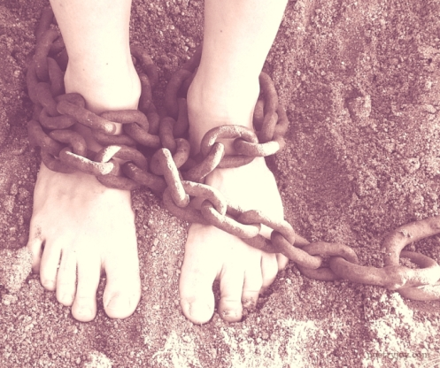 burden - chained by circumstance, freed by grace @poetryjoy.com